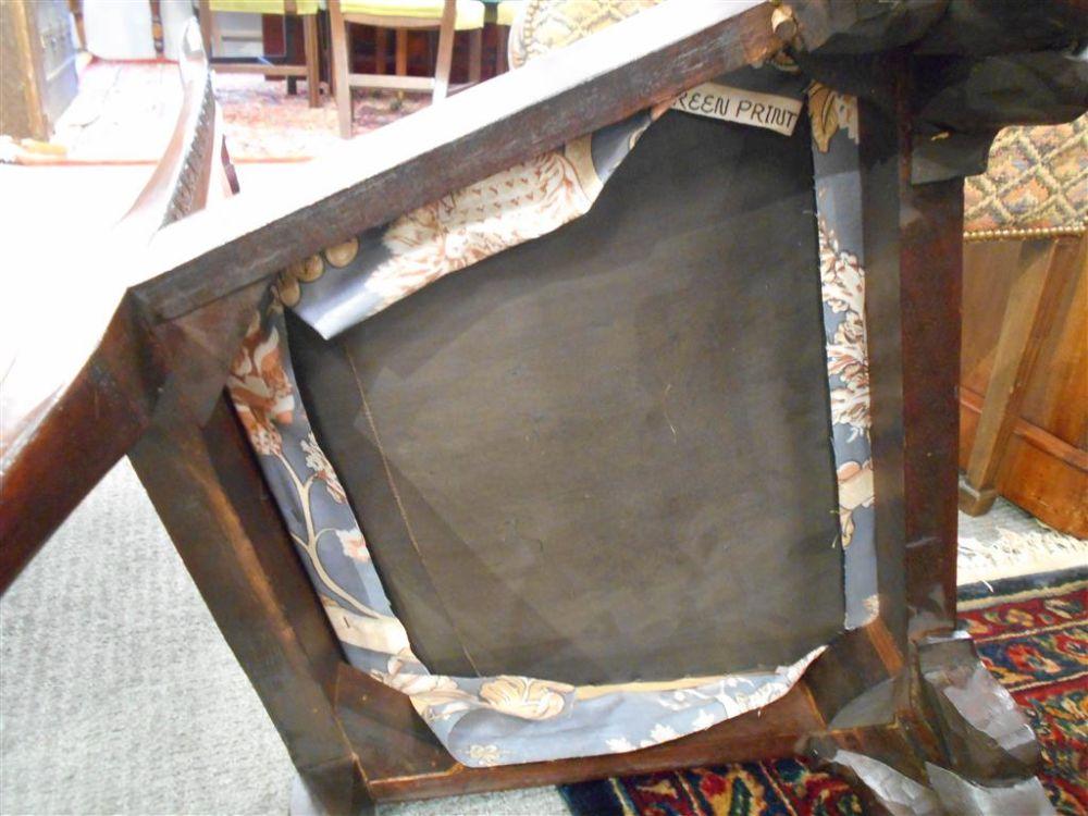 Six George III Mahogany Side Chairs