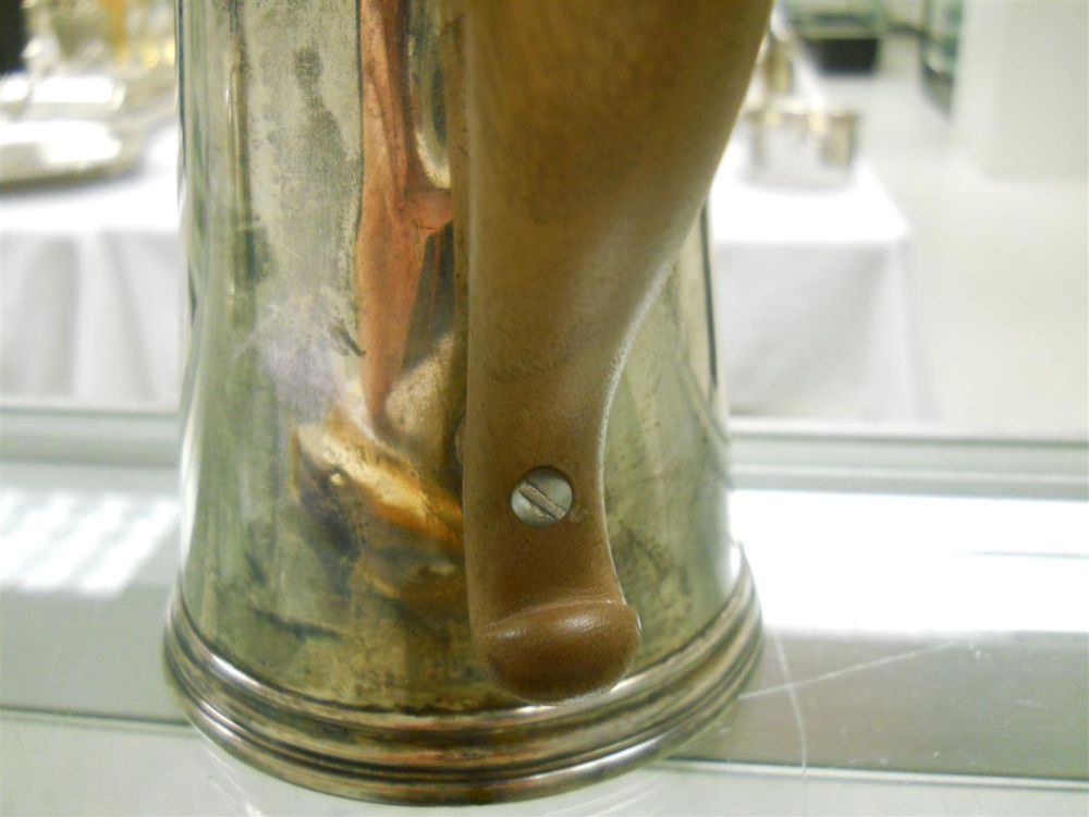 Georgian Sterling Silver Coffeepot