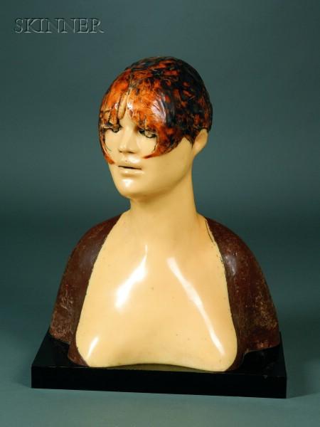 Frank Gallo (American, b. 1933)      Female Bust