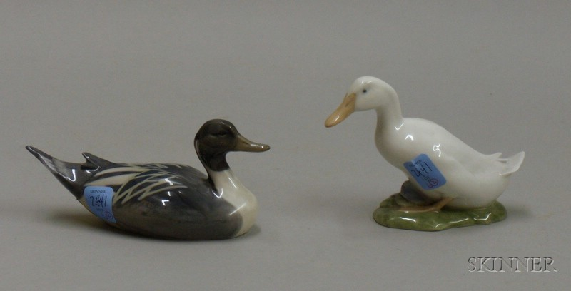 Two Royal Copenhagen Ducks