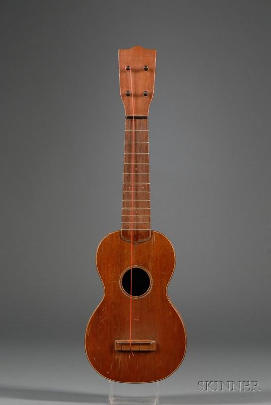 American Ukulele, C.F. Martin & Company, Nazareth, c. 1920, Style 1