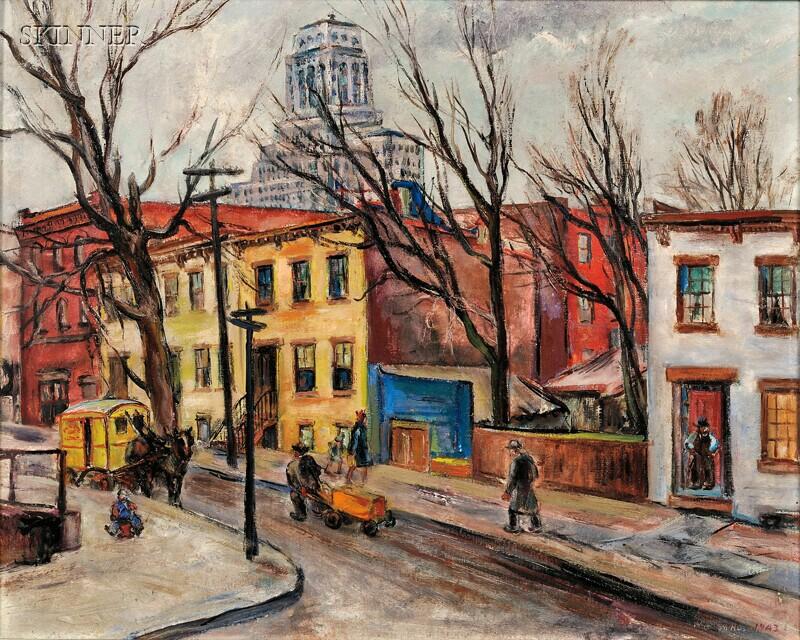 Marion Huse (American, 1896-1967)      Autumn Evening