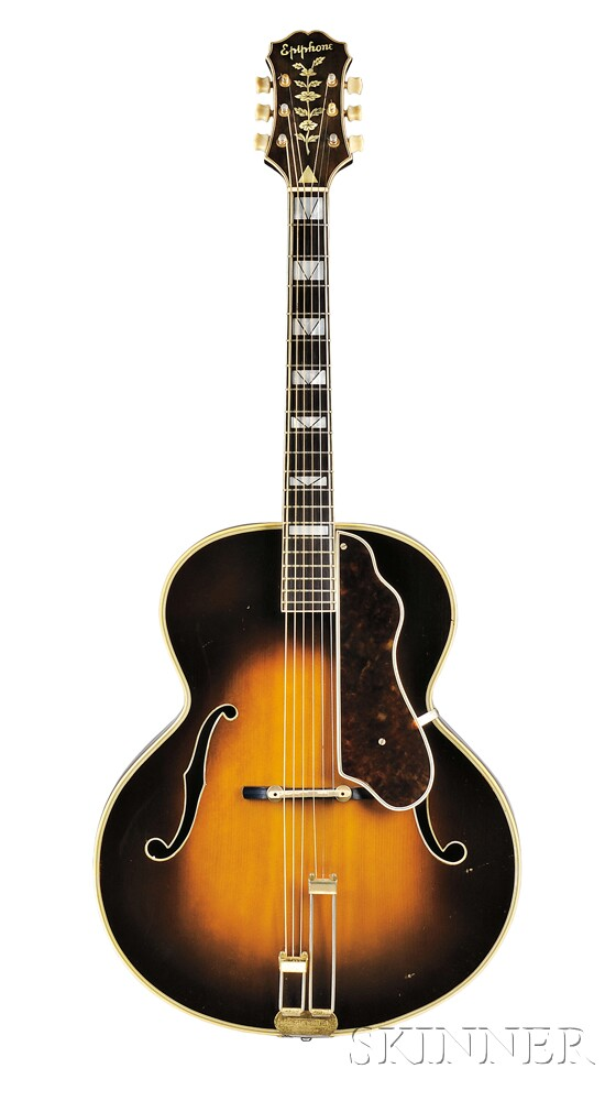 American Guitar, Epiphone Incorporated, New York, 1941, Style Emperor