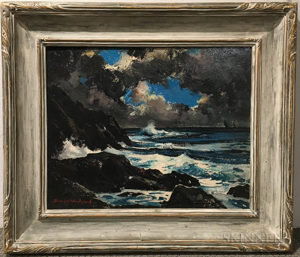 STANLEY WINGATE WOODWARD, Massachusetts, 1890-1970, Nude und