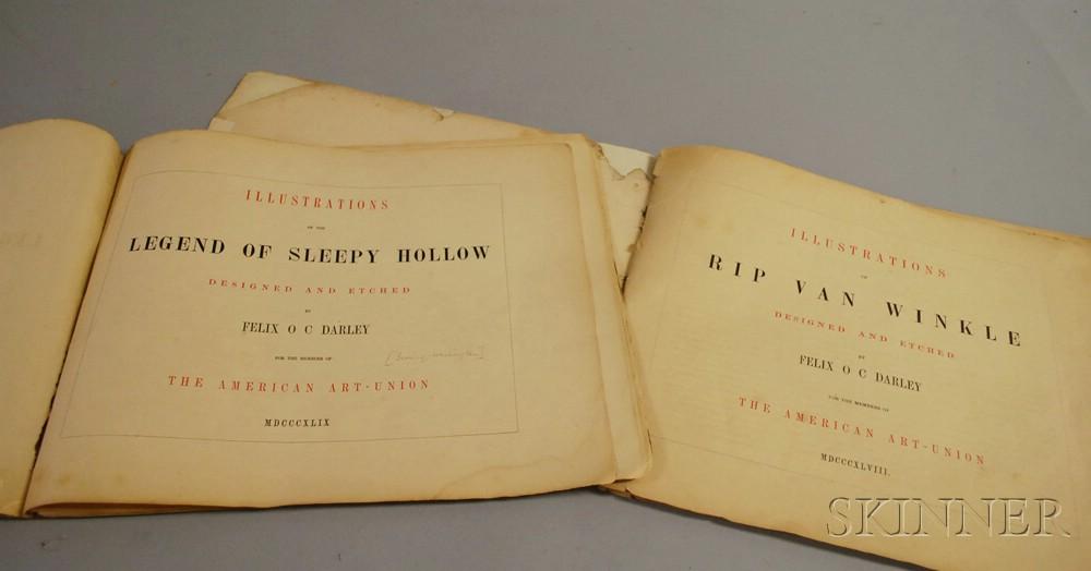 Two Felix O.C. Darley Illustrated Books