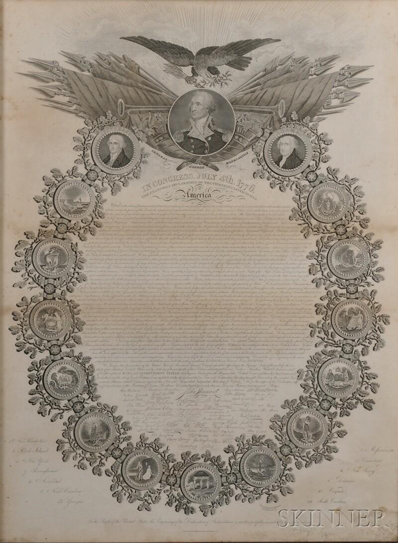 Declaration of Independence, Woodruff Broadside.