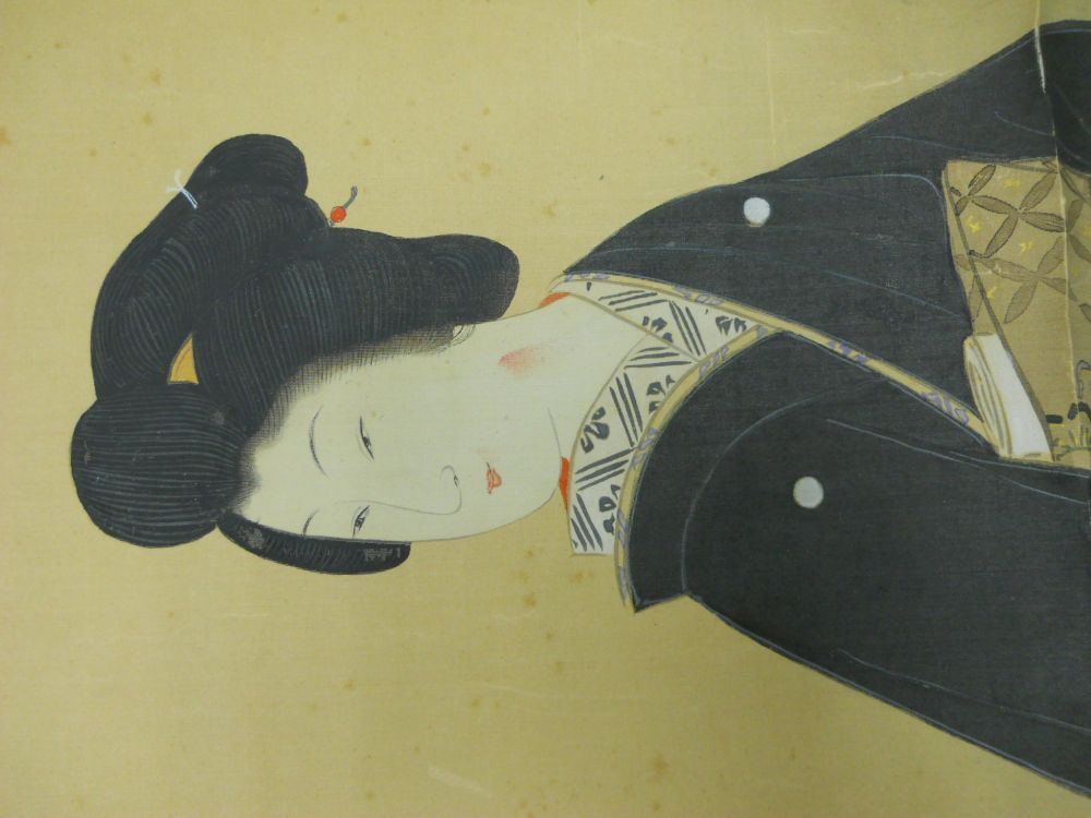 Hanging Scroll Depicting a Beauty