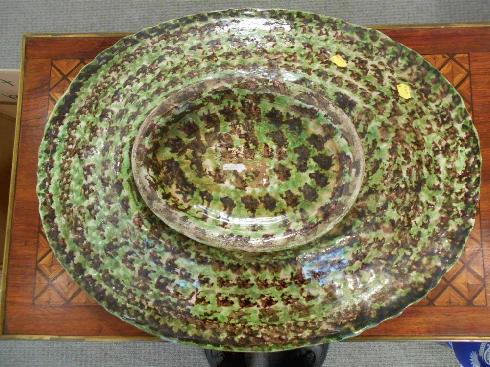 Joseph Landais Palissy Ware Platter