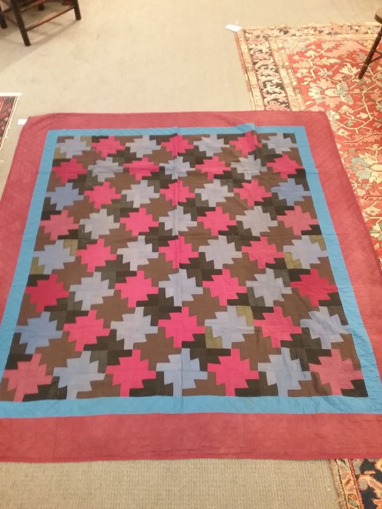 Three Mennonite Quilts Sale Number 3038b Lot Number 634