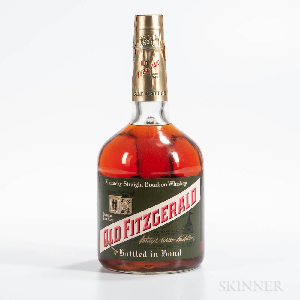 Old Fitzgerald 6 Years Old 1962, 1 1/2g bottle