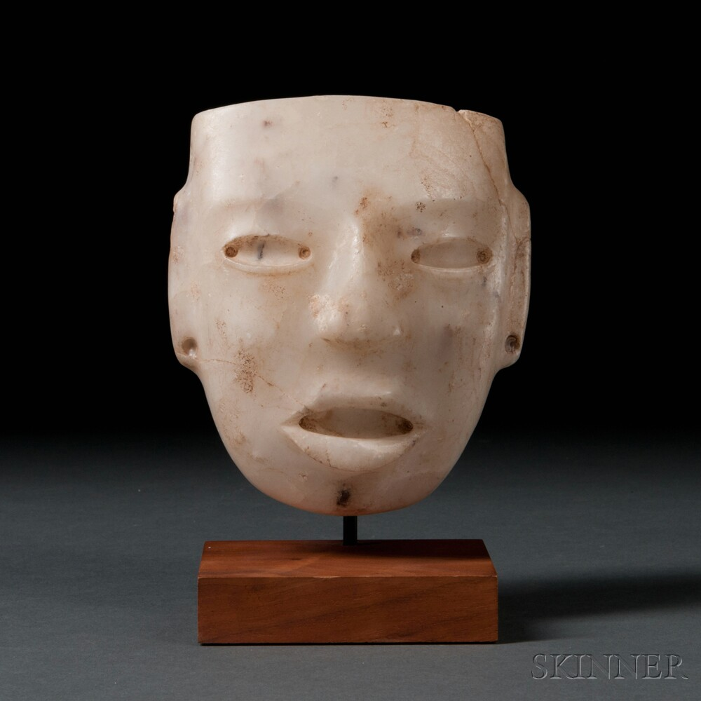 Teotihuacan Carved Stone Mask