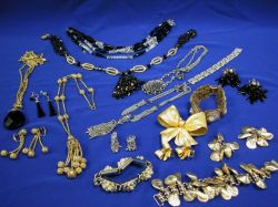 Group of Mid-20th Century Costume Jewelry.