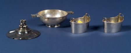 Pair of George III Silver Open Salts