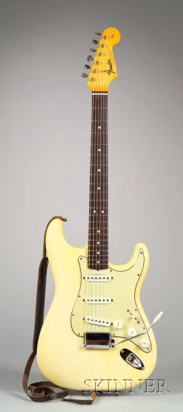 American Electric Guitar, Fender Electric Instruments, Fullerton, 1965