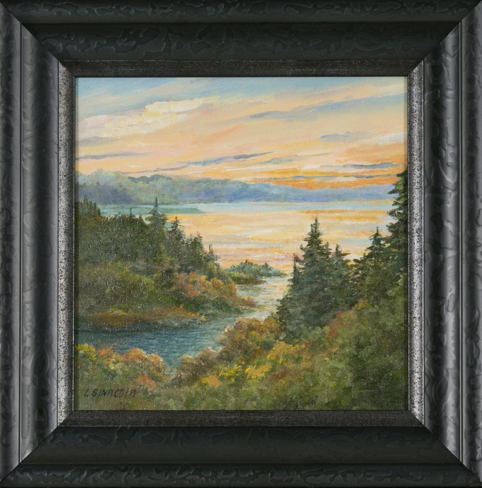 Linda Sinacola (Massachusetts, b. 1940), Main Inlet
