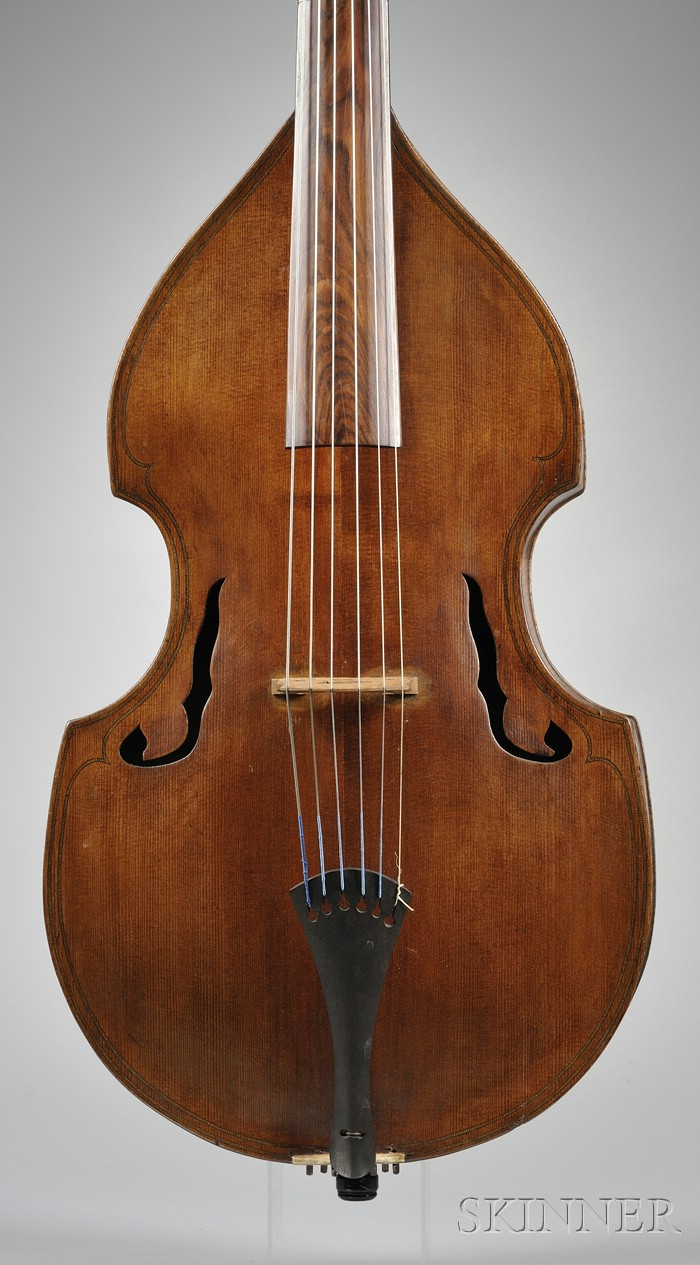 French Viola da Gamba, c. 1860