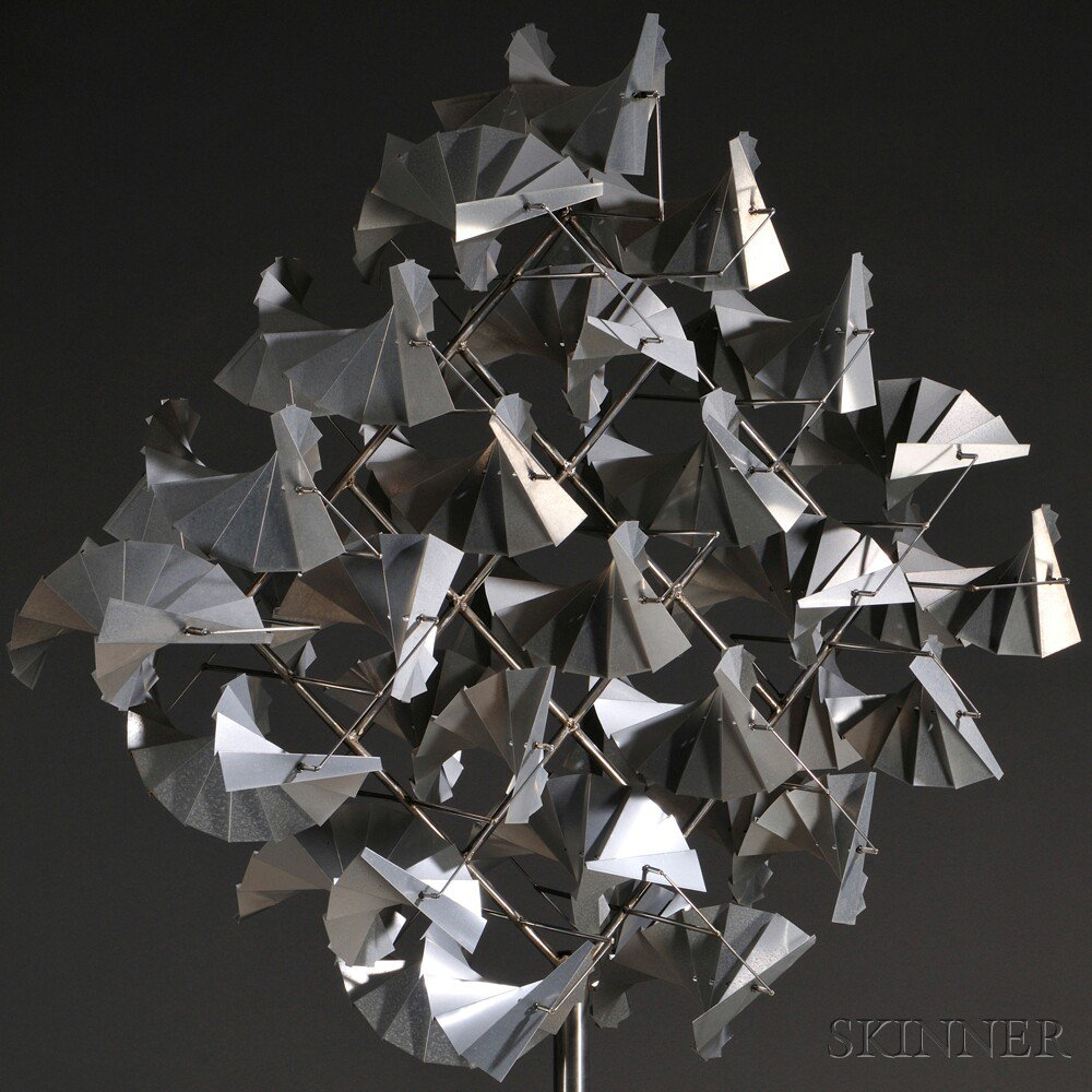 George Sherwood (American, 20th/21st Century) Kinetic Sculpture       Flock of Birds