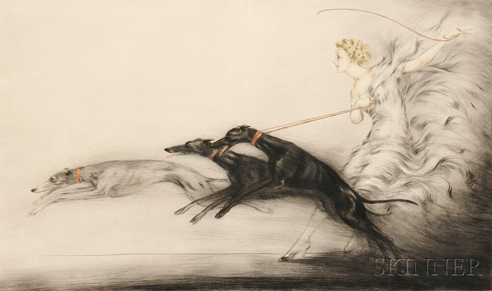 Louis Icart (French, 1888-1950)      Vitesse