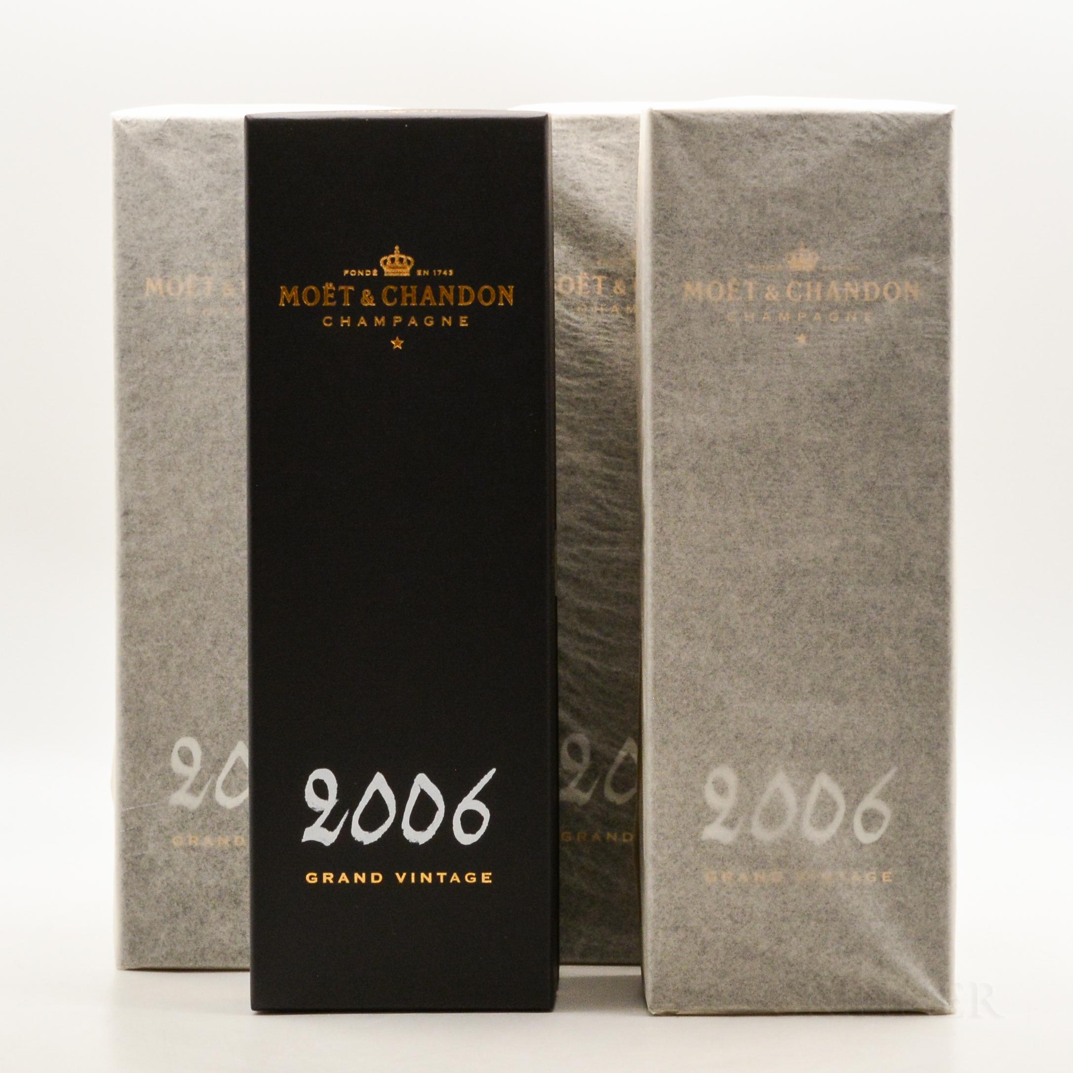 Moet & Chandon 2006, 4 bottles (ind. pc)