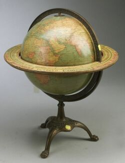 Johnston 12-Inch Terrestrial Globe