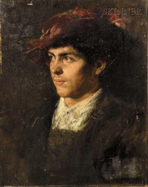 Eastern European School, 19th Century      Portrait of a Gentleman