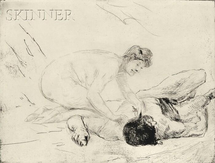 Max Liebermann (German, 1847-1935)      Simson und Delila
