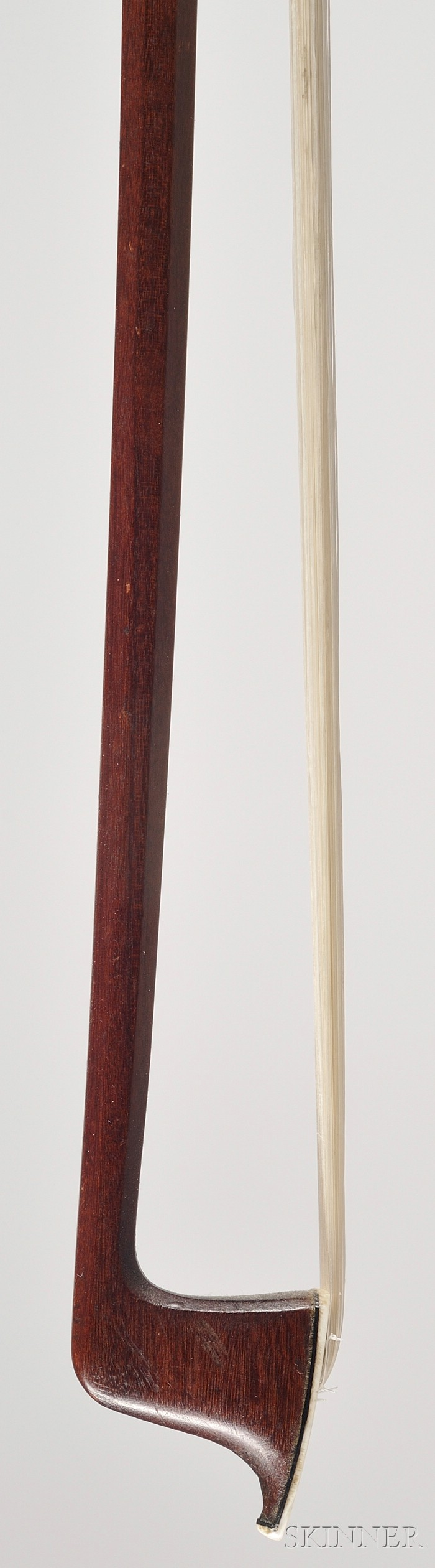 French Nickel Mounted Violin Bow, Eugene Sartory