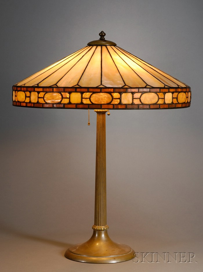 Table Lamp Attributed to Duffner & Kimberly