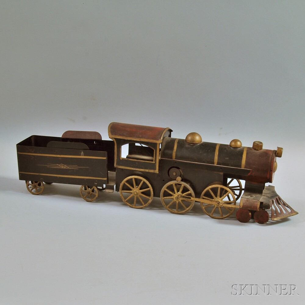 Dayton Hill Climber Pressed Steel Friction-driven Locomotive and Tender