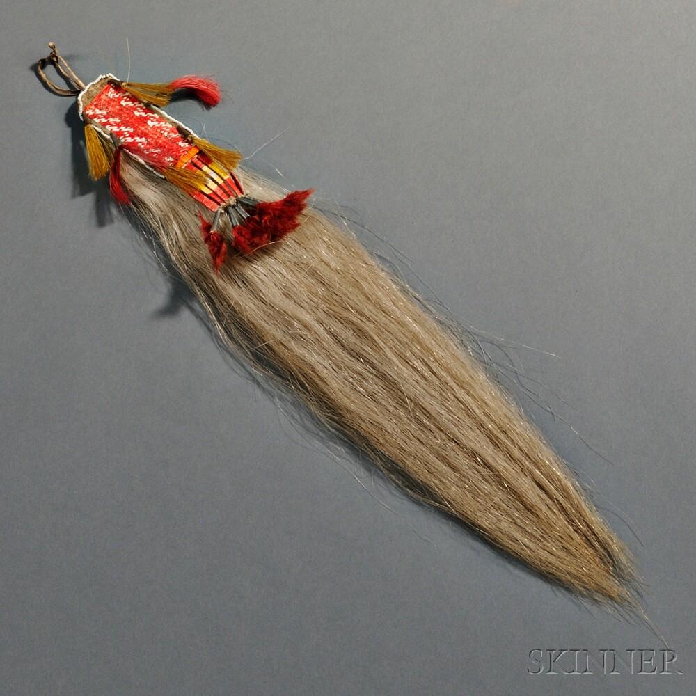 Plains Quilled Hair Drop