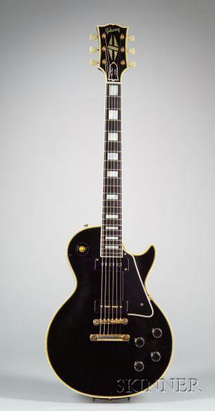 American Electric Guitar, Gibson Incorporated, Kalamazoo, 1956, Model Les Paul Custo