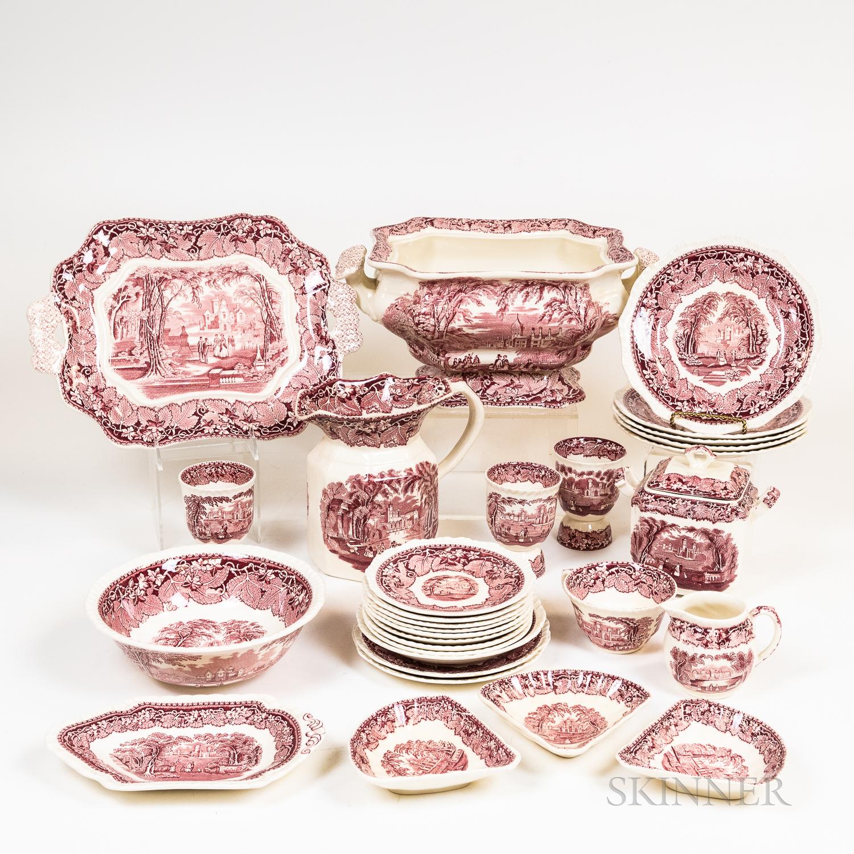 Group of Mason's Ironstone Tableware