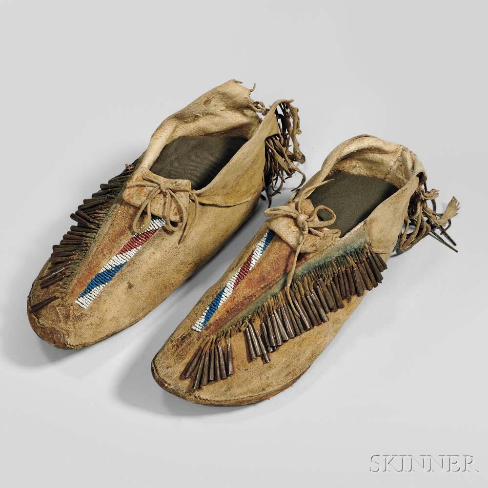Apache Man's Moccasins