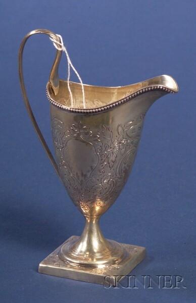 George III Silver Creamer