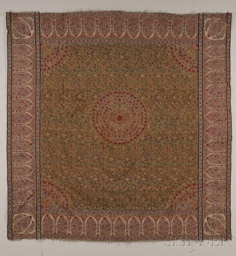 Sold For 59 250 Kashmir Moon Shawl