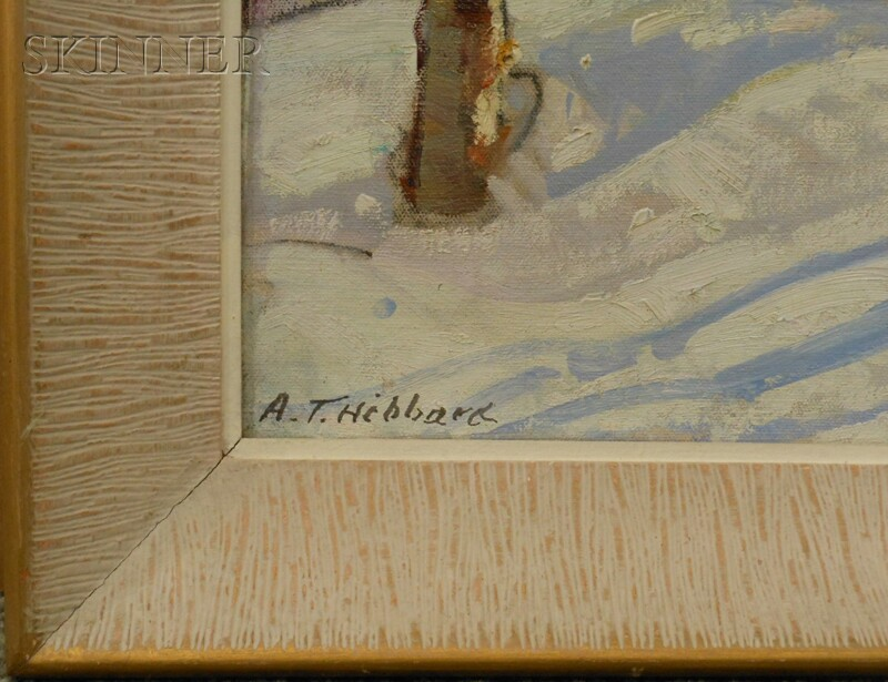 Aldro Thompson Hibbard (American, 1886-1972)      Birch Trees