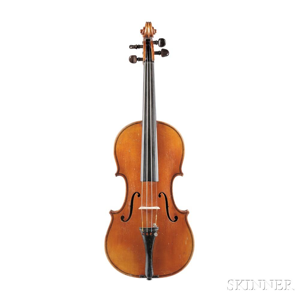 French Violin, Ch. J.B. Collin-Mezin, 1897