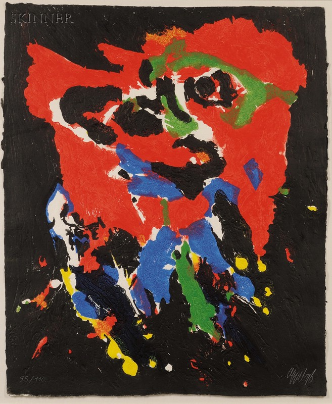Karel Appel (Dutch, 1921-2006)      Untitled