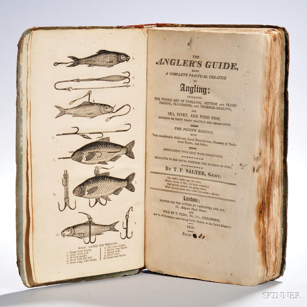 Salter, T.F. (active 1810) The Angler's Guide.