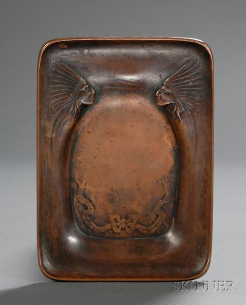 Arthur Stone Decorated Tray