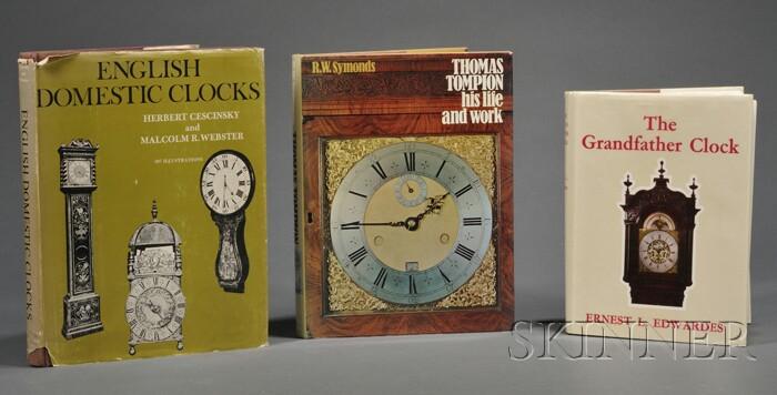 Three Titles on English Clockmaking