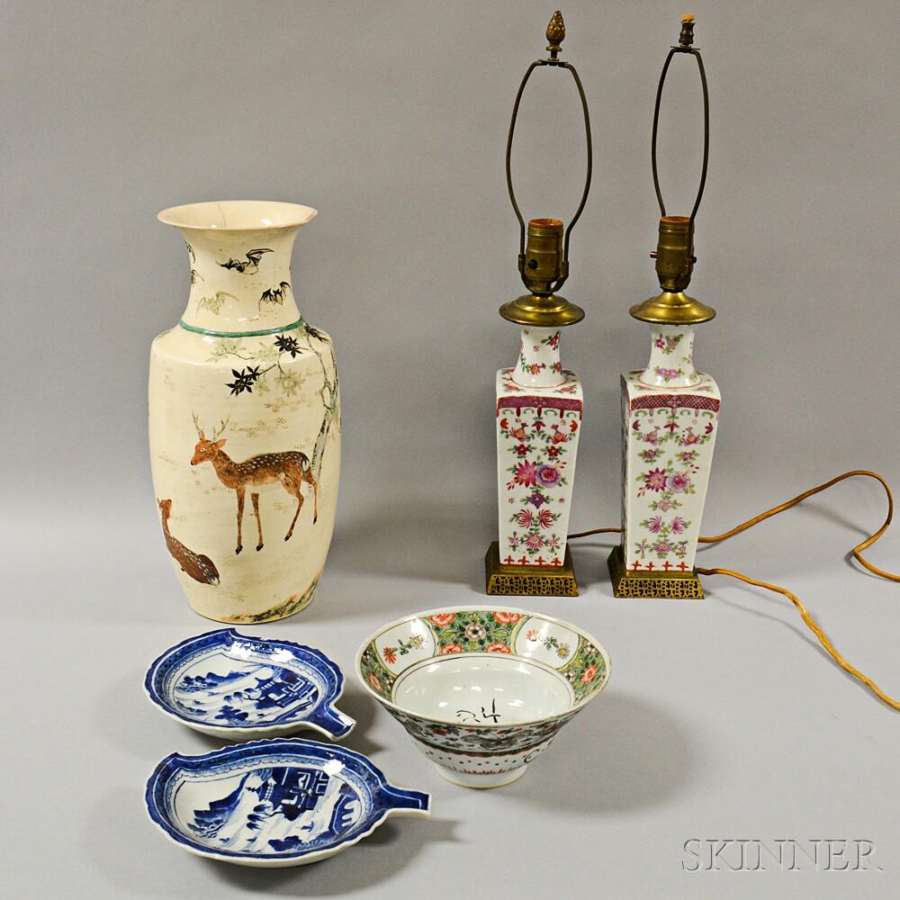 Six Assorted Ceramic Items