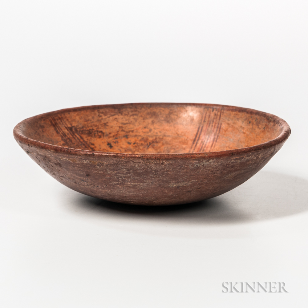 Pre-Columbian Polychrome Dish