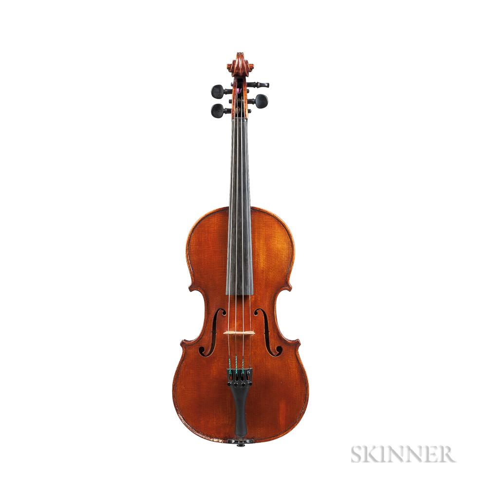 American Violin, Charles Hunnicutt, Wilmington, 1928
