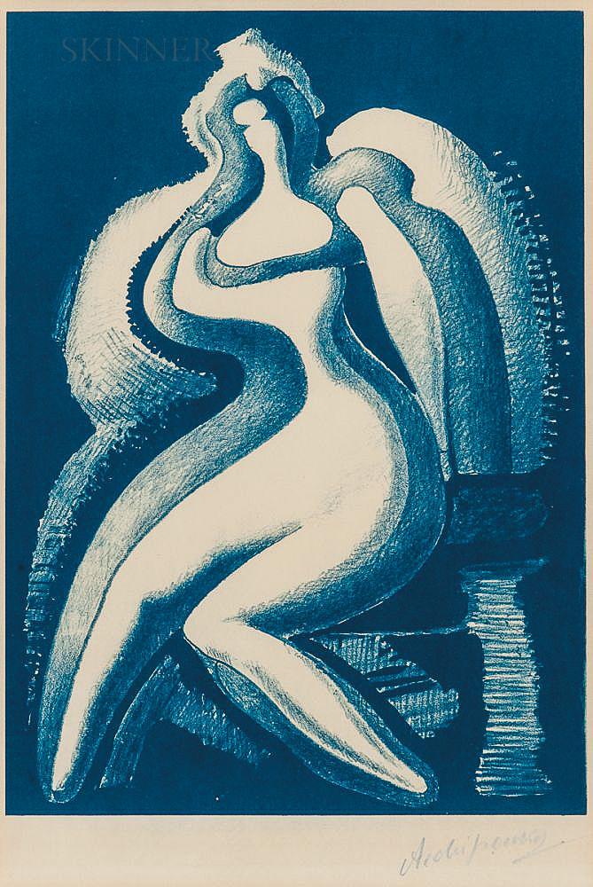 Alexander Archipenko (American/Ukrainian, 1887-1964)      Coquette