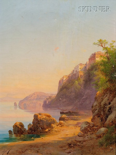 Guido Agostini (Italian, 19th Century)      Sorrento