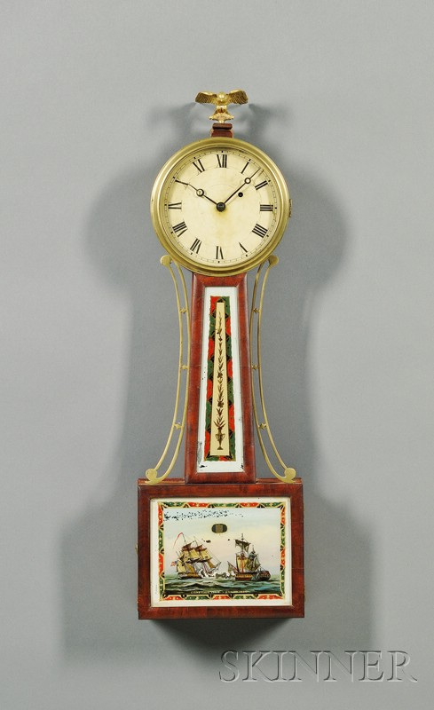 Federal Mahogany Patent Timepiece