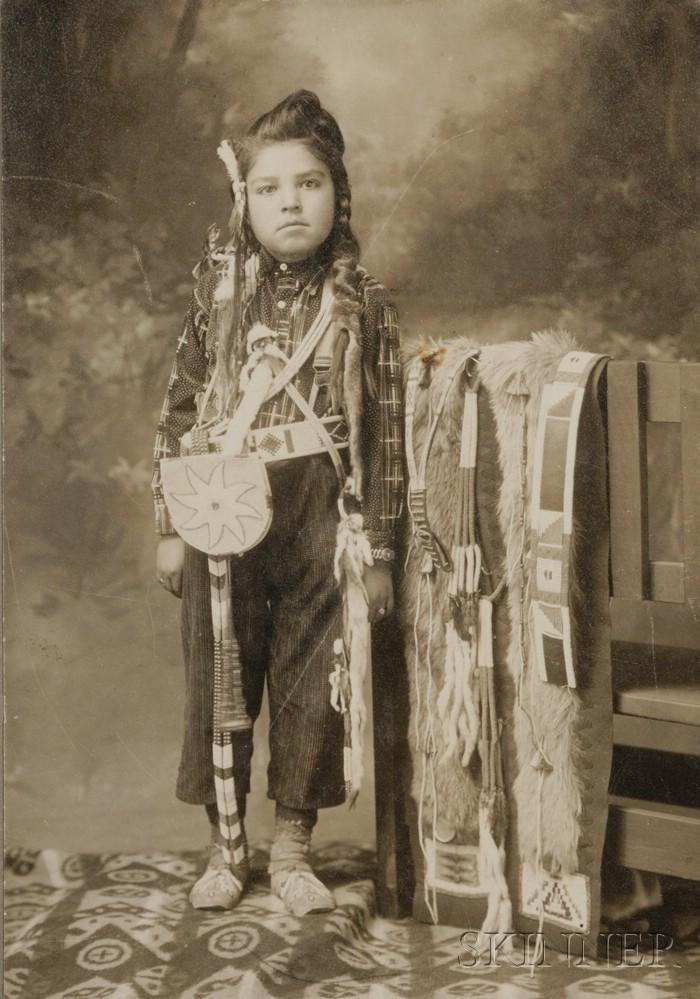 Photograph of a Crow Boy