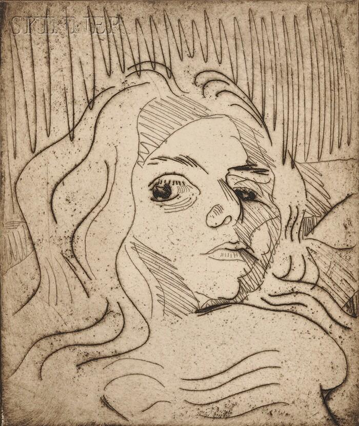 Walter Gramatté (German, 1897-1929)      Plate