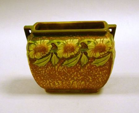 Roseville Pottery Dahlrose Vase.